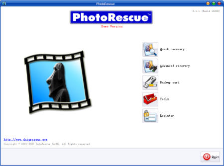 Click to view PhotoRescue PC EN 3.3.1.133 screenshot