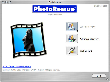 PhotoRescue Mac English Version
